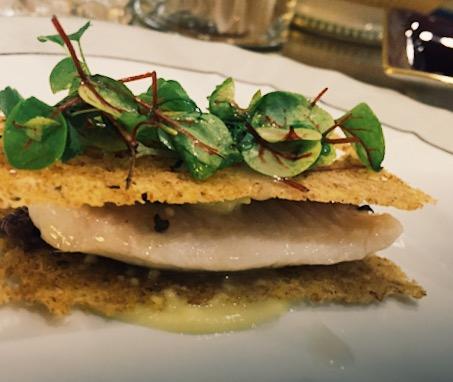 Sandwich di triglia croccante - ristorante St. George Taormina - Marco Musso blogv